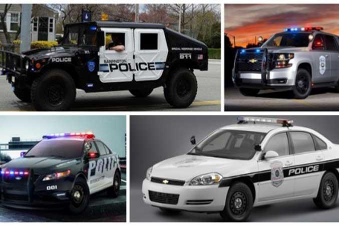 Police-car-in-America-
